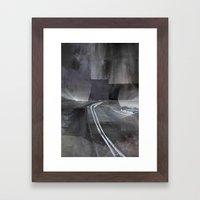 Paris d'avenir 5 Framed Art Print
