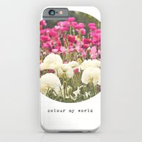 iPhone & iPod Case featuring Colour My World by Audrey Kelly