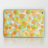 Pebbles Orange Laptop & iPad Skin