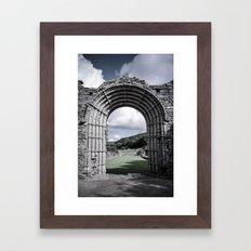 Faded Memories: Strata Florida Framed Art Print