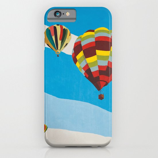 Three Hot Air Balloons iPhone & iPod Case