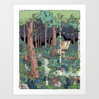 Artist in the Wild Art Print