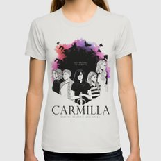 Carmilla Womens Fitted Tee Silver SMALL