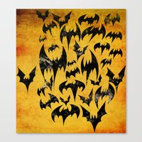 Bats in the Belfry Canvas Print
