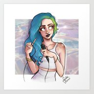 Halsey Art Print