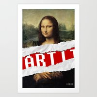 MONA LISA RELOADED Art Print