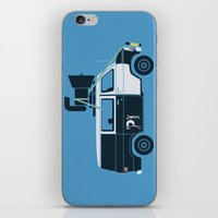 The Blues Brothers' Van iPhone & iPod Skin