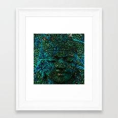 NEUROMANTICBOUDHA Framed Art Print