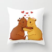All my love is for you Throw Pillow