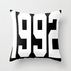1992 Throw Pillow