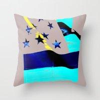 American Homemaker  Throw Pillow