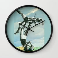 Sportrobatics Wall Clock