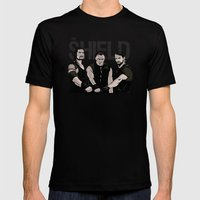 WWE - The Shield Mens Fitted Tee Black SMALL
