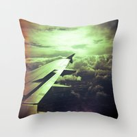 Lomographic Flight 1 Throw Pillow
