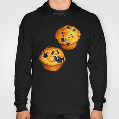 Blueberry Muffin Pattern Hoody