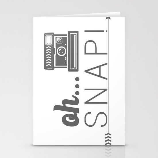 Snap! Stationery Card