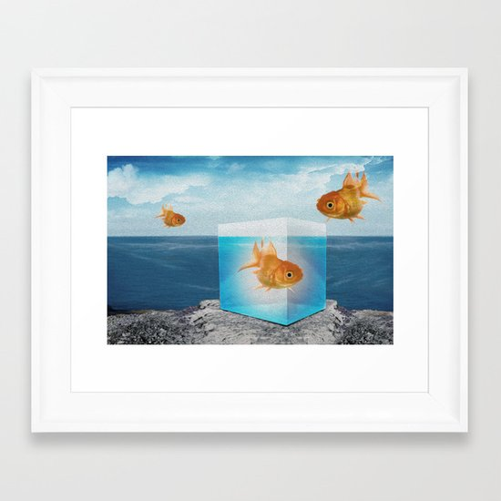 horatio by the sea Framed Art Print