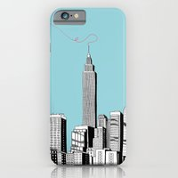 A Scribble in the Sky iPhone 6 Slim Case
