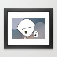 Gone Fishing (1) Framed Art Print