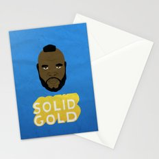 Solid Gold Stationery Cards