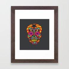 muerto Framed Art Print