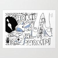 Haiku Pop Art Print