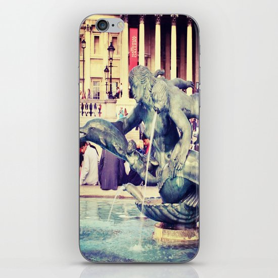 Fountain of Angels iPhone & iPod Skin