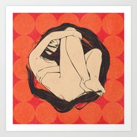 The Circle. Autumn Editi… Art Print