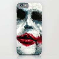 iPhone & iPod Case featuring Why So Serious? by Portia Alice