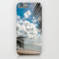 Couple at the beach iPhone 6 Slim Case