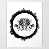 Half Bird Art Print