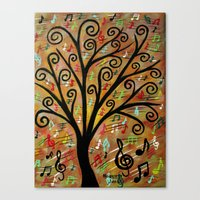 Abstract Tree-12  Canvas Print