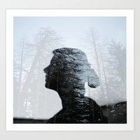 Don't Hide In The Woods Art Print