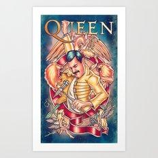 Don't Stop Queen Now Art Print