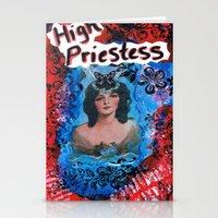 High Priestess Stationery Cards