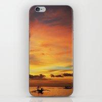 Tangerine Sunset iPhone & iPod Skin