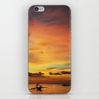 Tangerine Sunset iPhone & iPod Skin