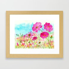 Symphony In Pink, Pink C… Framed Art Print