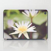 Water Lilies iPad Case