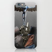 iPhone & iPod Case featuring Freedom of the mind by Shou Yuan