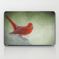 Song of the Summer Tanager 4 - Birds iPad Case