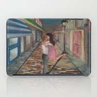 A Kiss in Paris iPad Case