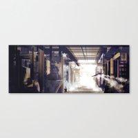 Frozen Shelter Canvas Print