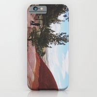 iPhone & iPod Case featuring Man and His Dog at Painted Hills  by Gilganizer