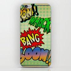 Comic Sounds iPhone & iPod Skin