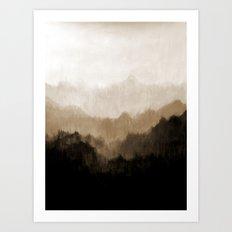 Old Mountain Art Print