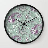 Filigreed Wall Clock