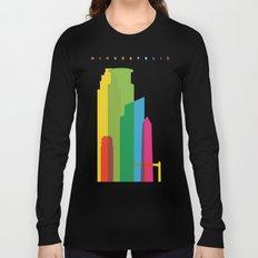 Shapes of Minneapolis Long Sleeve T-shirt