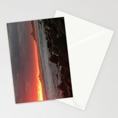 Red at night sailor's delight Stationery Cards