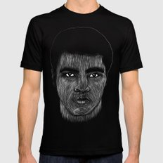 Mohamed Ali 2 Mens Fitted Tee Black SMALL